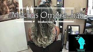 Mechas Ombre-hair passo a passo!