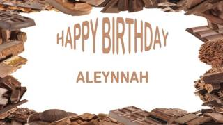 Aleynnah   Birthday Postcards & Postales