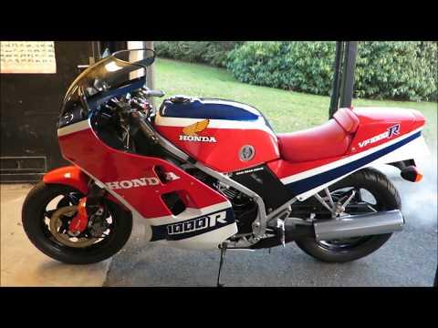 Honda VF1000R 1984 original. From 2017