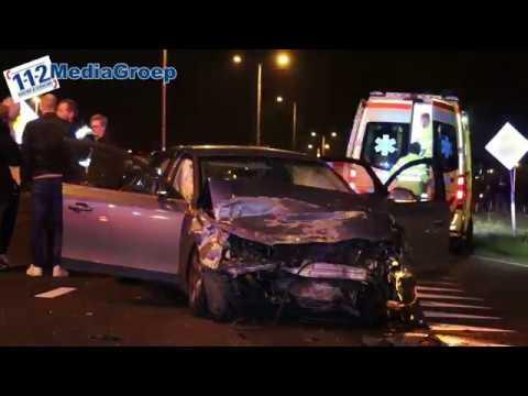 13 januari 2018 Ernstig ongeval Rondweg-Oost Veenendaal