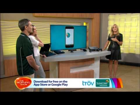 Suncorp Insurance brings TROV to the Morning Show