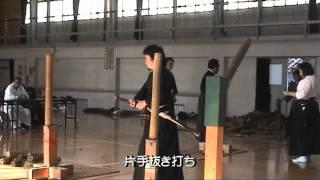 11月11日に開催される第36回全日本抜刀道連盟全国大会の形・試斬の部で...