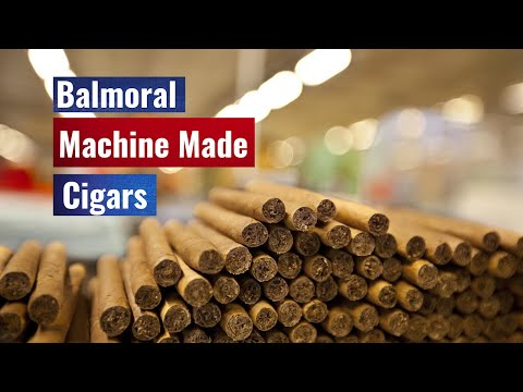 Hans Rijfkogel: Balmoral Machinemade Cigars