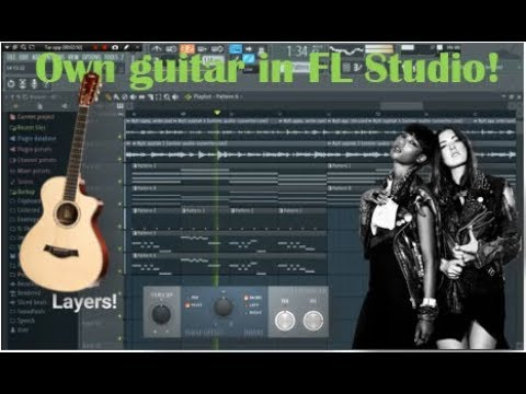How to use your own guitar in FL Studio! (with only your phone!)
