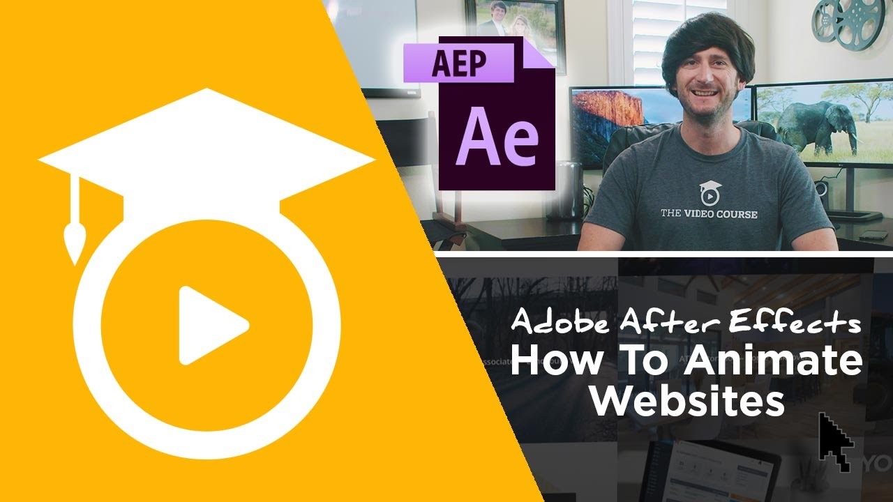 How To Animate A Website In After Effects  Free Project File 📥