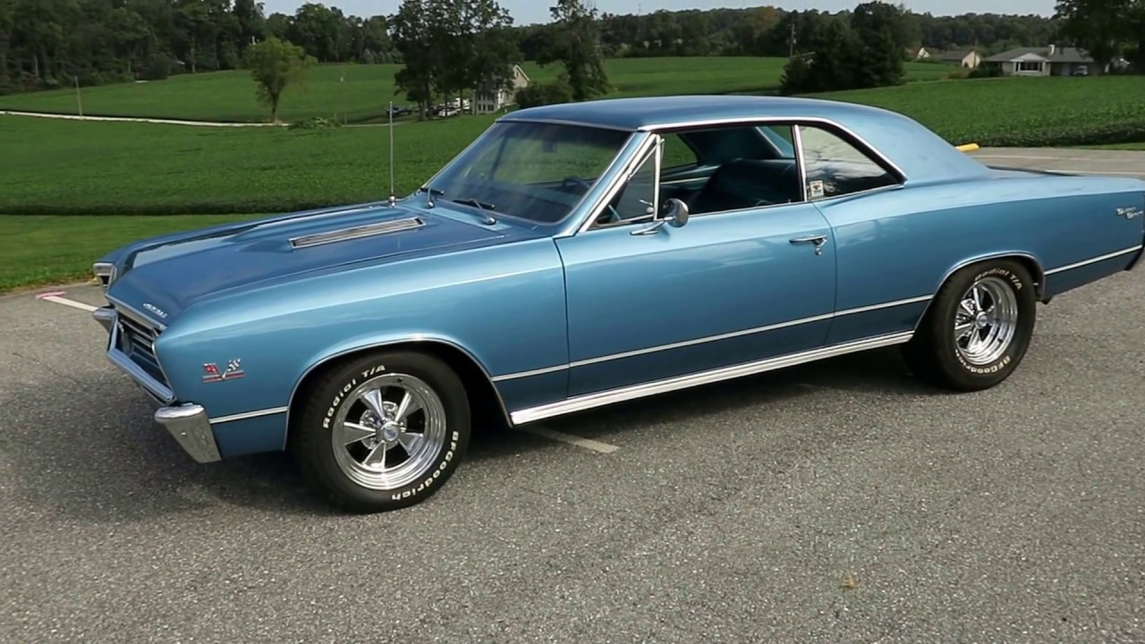 1967 CHEVELLE SS SOLD @ ERIC\'S MUSCLE CARS - YouTube