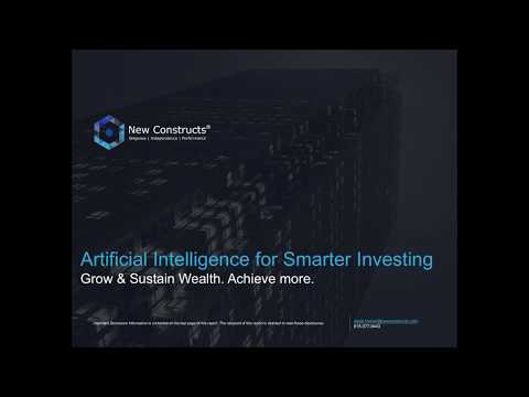 New Constructs - Machine Learning for Smarter Investing