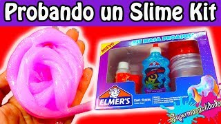 Probando un Kit de Slime Elmer's 🔥SUPERMANUALIDADES🔥