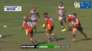 Men's Open Final | Tag World Cup 2018 | New Zealand vs Lebanon