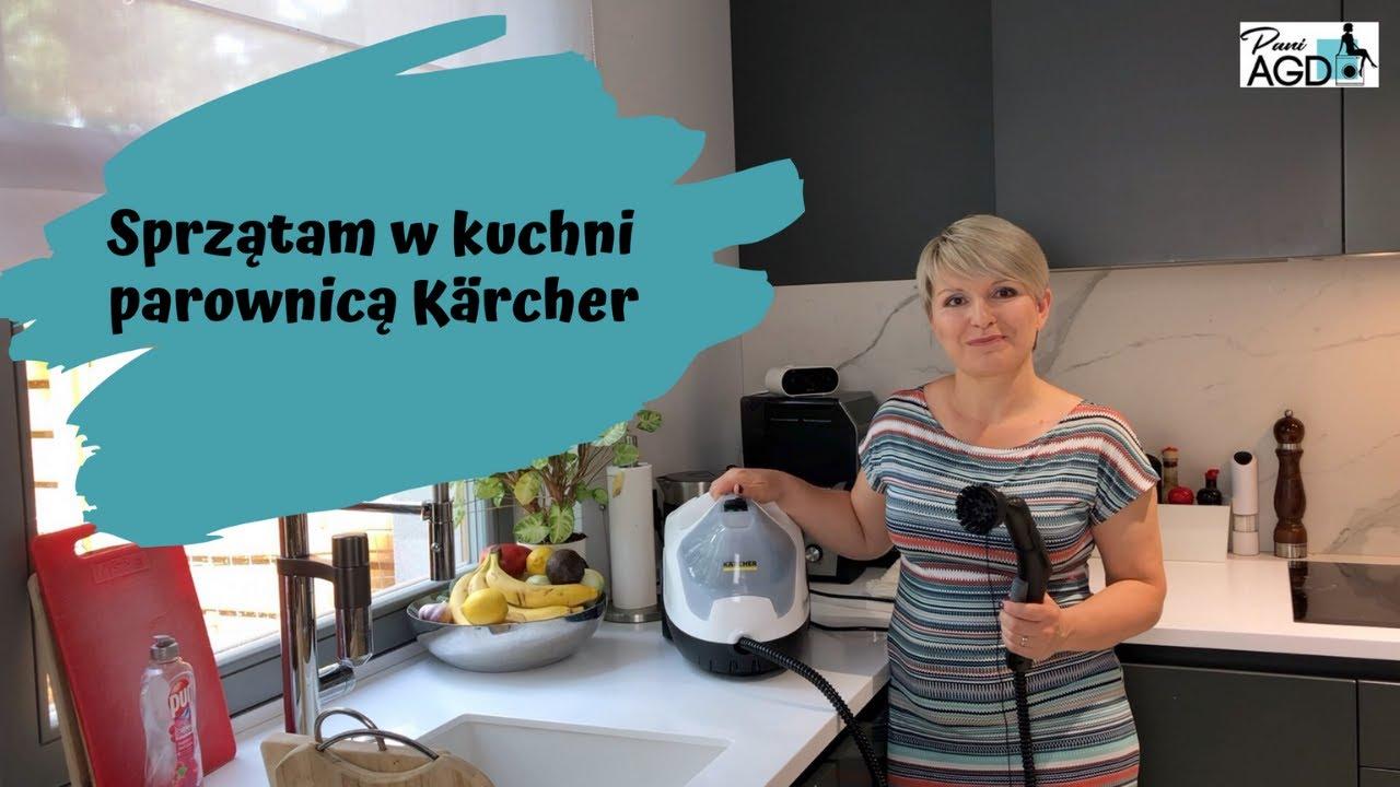 Czyszczenie kuchni przy użyciu parownicy Karcher SC4 EasyFix Premium Home Line