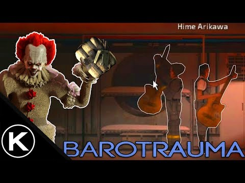 CRAZY TERRORIST CLOWN ( Barotrauma Extended Mod Funny Moments With Friends )