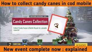 [HINDI] How to collect Candy canes in cod mobile ||CODM new event candy canes collection explained.