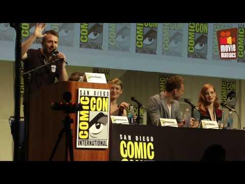 Crimson Peak Full SDCC Panel 2015 Guillermo Del Toro Tom Hiddleston