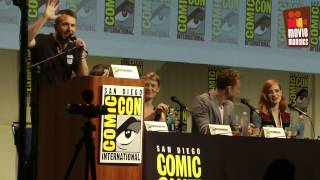 Crimson Peak full SDCC panel 2015 Guillermo Del Toro Tom Hiddleston