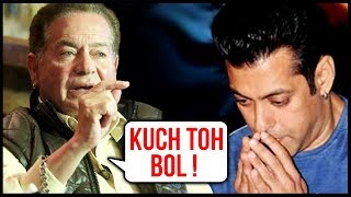Salman Khan Stays Silent, While Salim Khan Opens Up About Metoo Movement