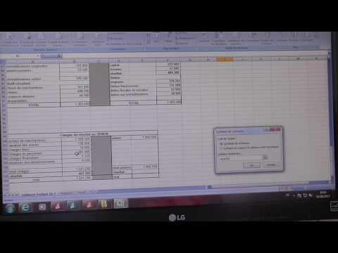 Excel : Gestion des scénarios SP LEANAS