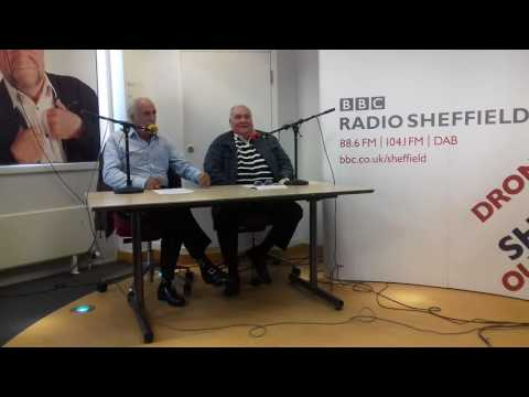 Bernie clifton live-ish at radio sheffield with tv legend don maclean
