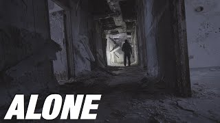 SOLO Overnight Camping Iฑ An Isolated ABANDONED Insane Asylum - In Winter! Ep. 2