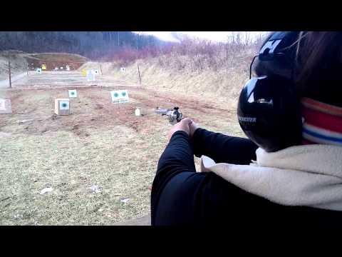 Amanda at the gun range NC. -  Dec 26, 2013