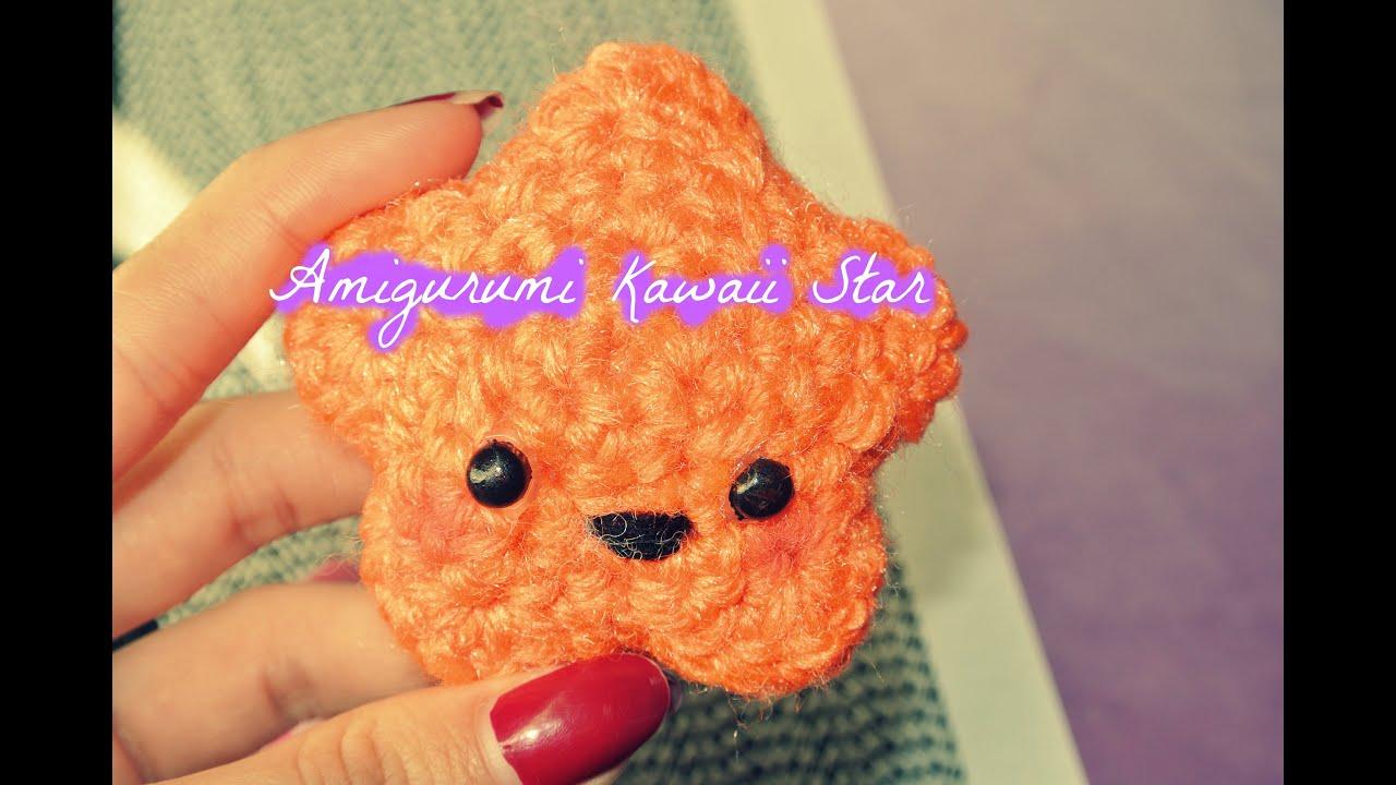 Amigurumi Kawaii Free : Crochet amigurumi kawaii star youtube