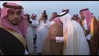 استقبال الأمير عبد العزيز بن فهد نائب أمير منطقة الجوف لمباشرة مهام عمله