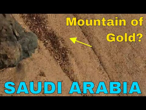 Jump Bashing, Quad Biking and a Mountain of Gold? Saudi Arabia