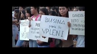 Tagasuporta ni VP Leni Robredo nagsagawa ng prayer rally sa Naga City