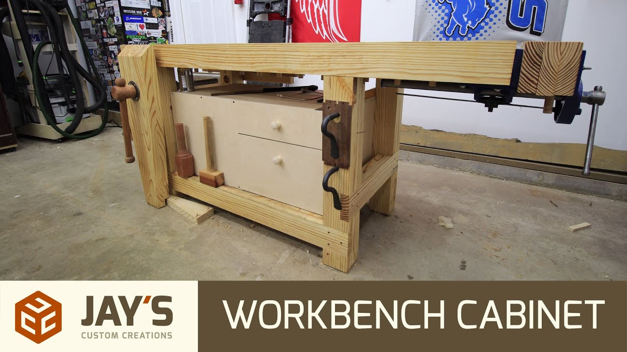 Workbench Tool Cabinet 234 Youtube