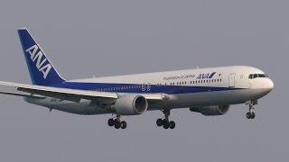 エアージャパン(全日空) ボーイング767-300 関西国際空港 ランウェイ2...