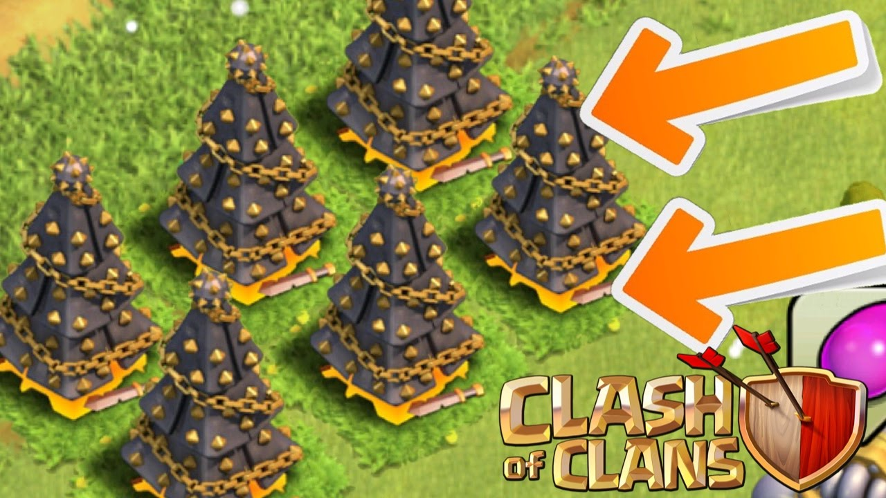 Clash Of Clans New Spawn A Christmas Tree Coc Christmas Tree