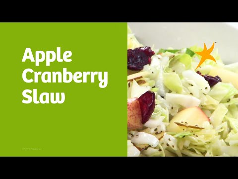 DaVita Eats: Apple Cranberry Slaw