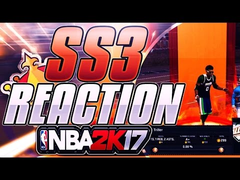 SS3 LIVE REACTION! I HIT SS3 DURING DOUBLE REP ON NBA 2K17!! (FINALLY SS3!)