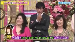 Oshima Yuko's Habit... And Kojima-san also talked about that w
