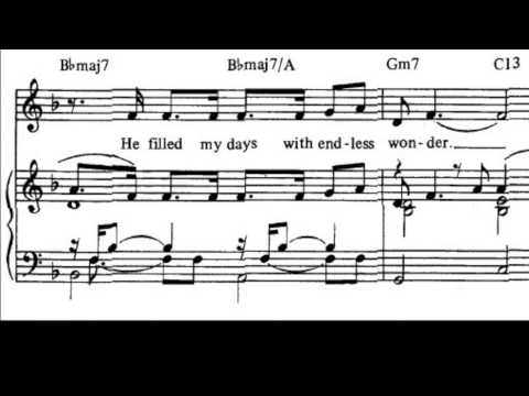 I Dreamed a Dream Sheet Music + Lyrics. [ANIMATED]