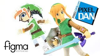 Legend of Zelda Link Between Worlds Figma Good Smile Company Figure Video Review