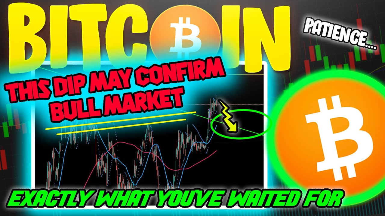 BITCOIN PRICE DIPS! ULTIMATE CONFIRMATION TO BTC BULL MARKET?!