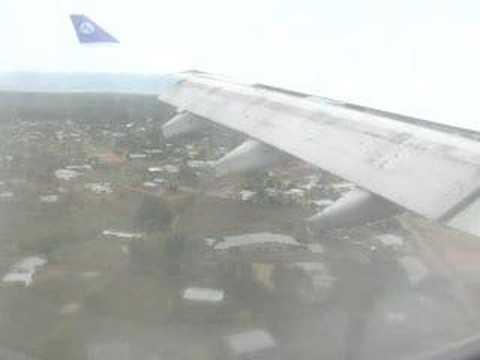 landing in freetown