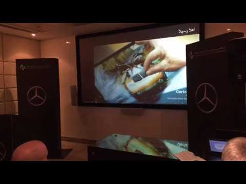 Annual Press Conference for Mercedes-Benz Qatar 2016