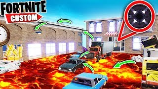 Fortnite 99.9% IMPOSSIBLE Floor is LAVA Escape.. Can YOU beat the DEATHRUN? (Fortnite Creative Mode)