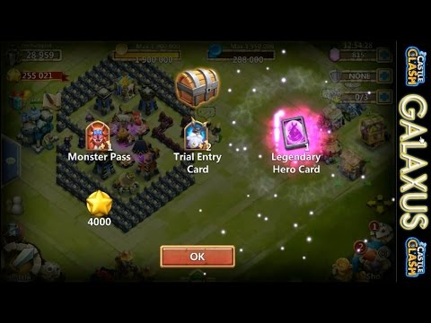 Castle Clash-(Holy SH@!)Lucky Chests Get LHC, + Rolling Gems & SHC(Best F2p CC Account Series Ep.12)