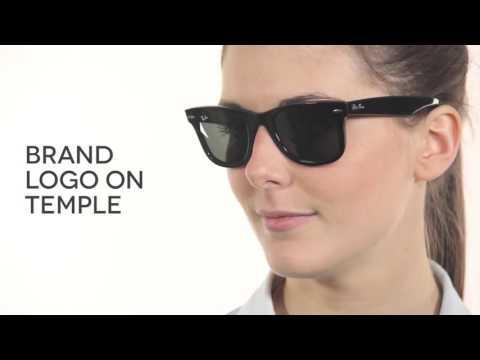 cc3a2bf50 Ray-Ban RB2140 Original Wayfarer Sunglasses Review | SmartBuyGlasses -  YouTube