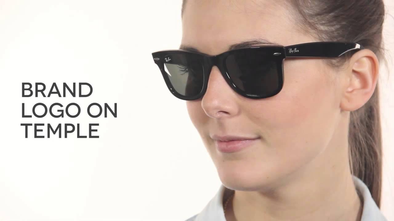 Ray-Ban RB2140 Original Wayfarer Sunglasses Review   SmartBuyGlasses ... b8e680d0a2