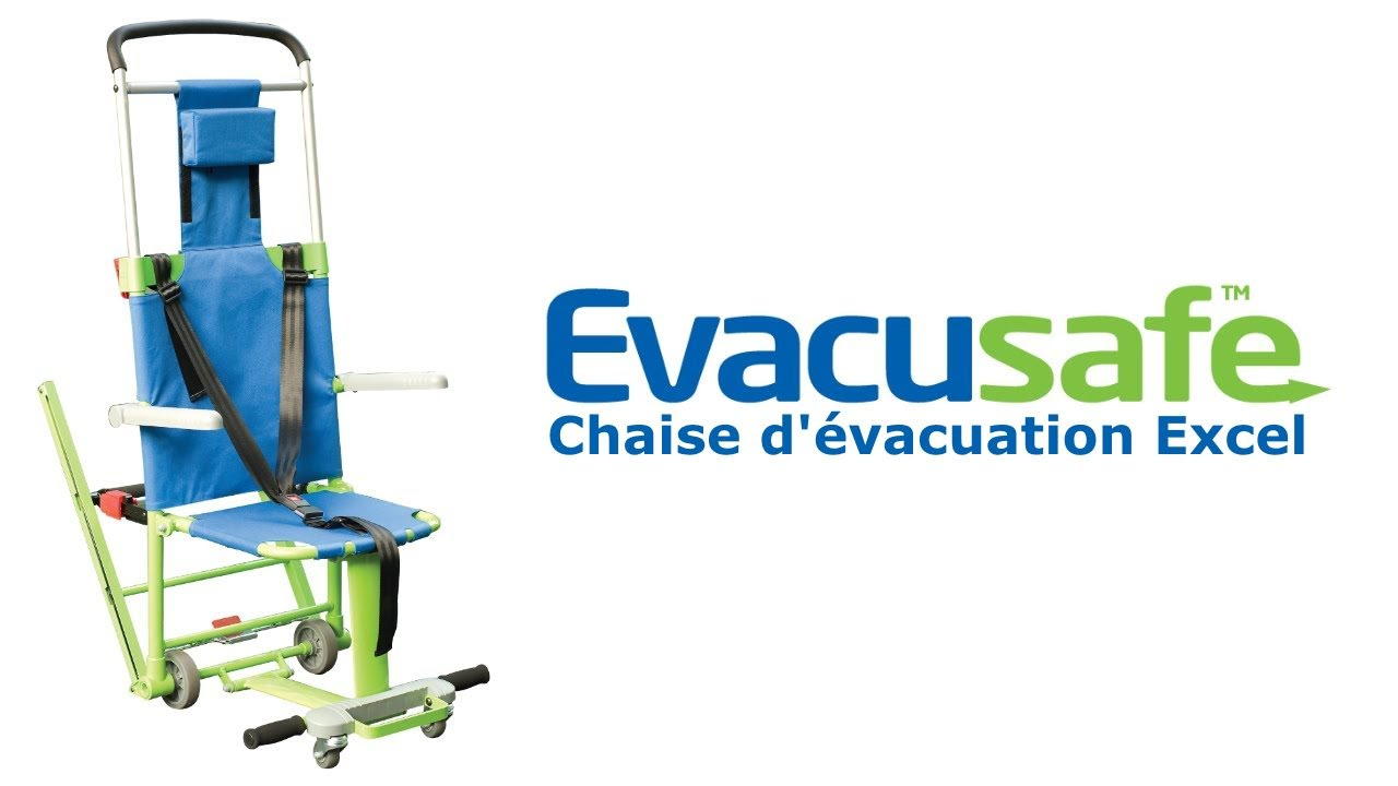 Evacusafe chaise d 39 vacuation excel french youtube for Chaise youtubeur