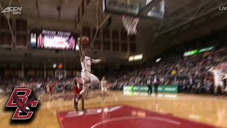 Boston College's Jarius Hamilton Seals The BC Win With 2 Dunks