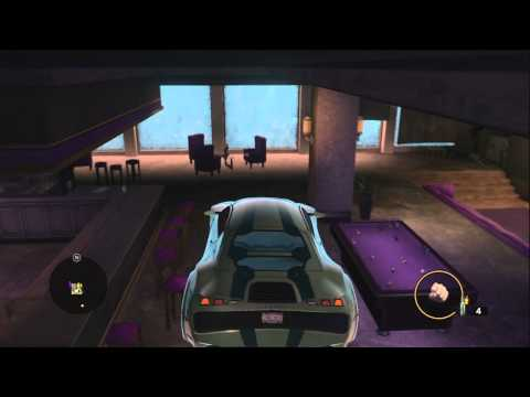 Saints Row 3: Vehicle in Penthouse Glitch