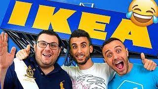 IGNORANZA ALL'IKEA CON TONY TUBO, FIUS GAMER e TATINO23 | VLOG ALL'IKEA
