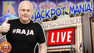 🔴 LIVE MEGA JACKPOT$ INCOMING! 🎰 Mega WIN$ from The Monarch Casino!