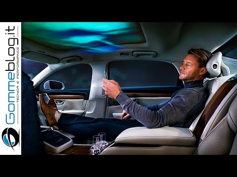 Volvo S90 INTERIOR - Top Luxury Sedan Car Ambient Lighting - Ambience Concept