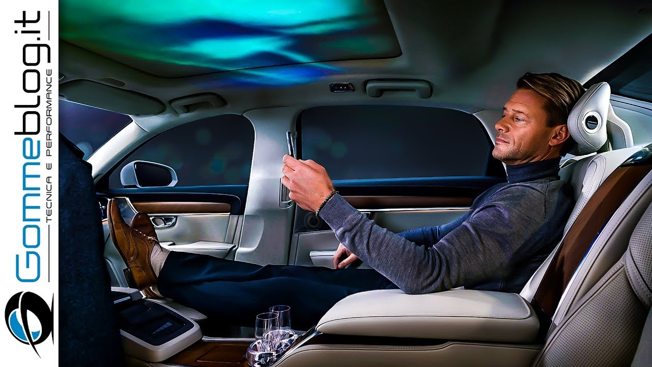 volvo s90 interior top luxury sedan car ambient lighting ambience concept youtube. Black Bedroom Furniture Sets. Home Design Ideas