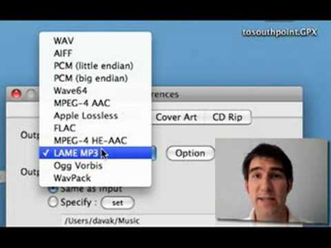 OS X: Convert Flac Files to MP3 for iTunes/iPod